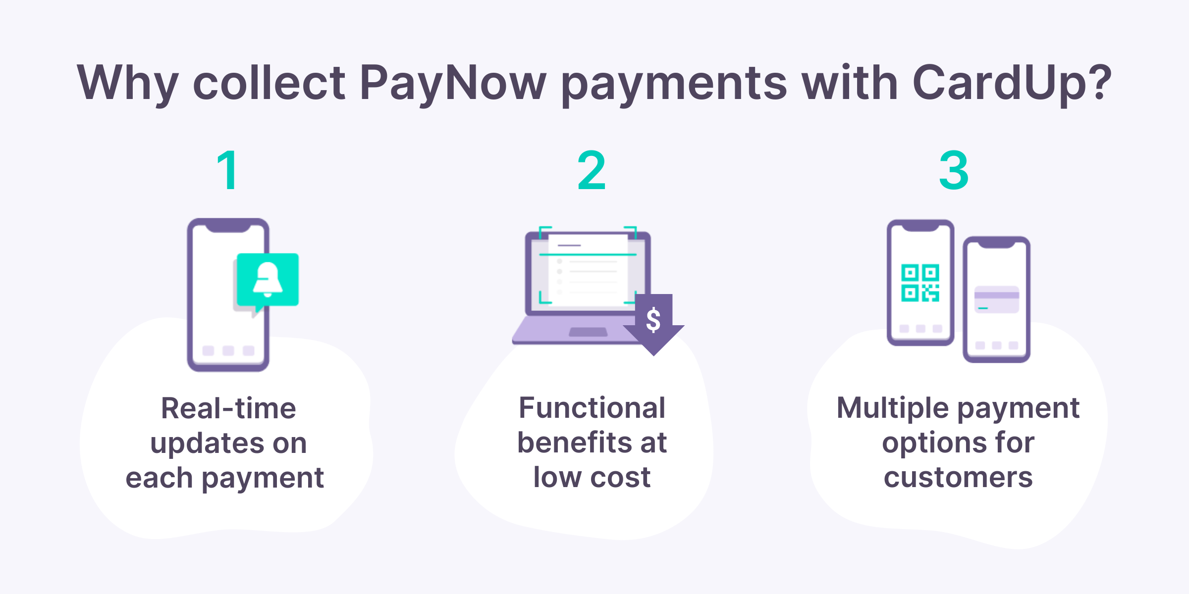 Why collect PayNow payments with CardUp?