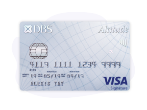 DBS Altitude Card Visa Signature Card
