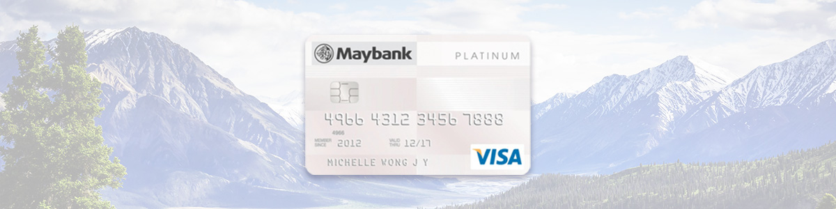 Maybank Visa Platinum Card on CardUp