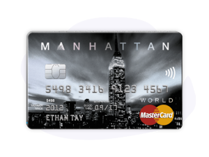 Standard Chartered MANHATTAN World Mastercard Card