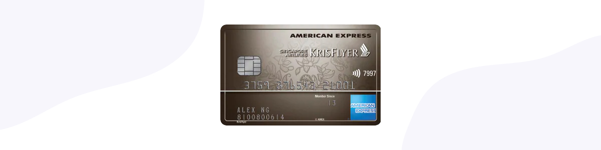 CardUp with The American Express® Singapore Airlines KrisFlyer Ascend Credit Card