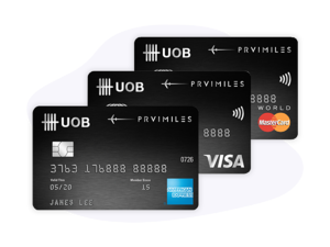 UOB PRIV Mile Credit Card