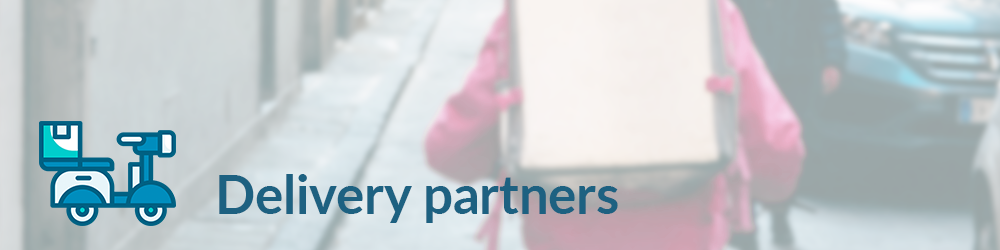 Food delivery partners