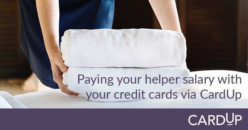 pay domestic helper salary with credit card